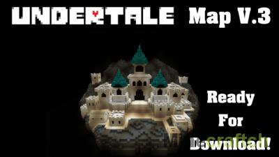 Карта Undertale для Minecraft