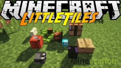 Little Tiles — мод на мини-блоки в Minecraft 1.7.10/1.12.*/1.11.2/1.10.2