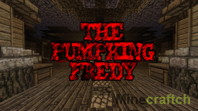 Карта The Pumpking Fredy — мини-игра ужастик для Minecraft 1.12