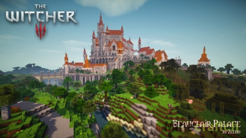 Beauclair Palace — карта The Witcher 3 для Minecraft