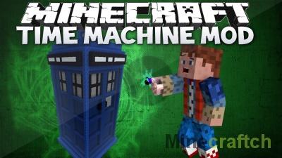 Time Machine — мод на машину времени в Minecraft 1.10.2/1.9/1.7.10