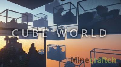 Cube World Mod — мир кубов в Minecraft