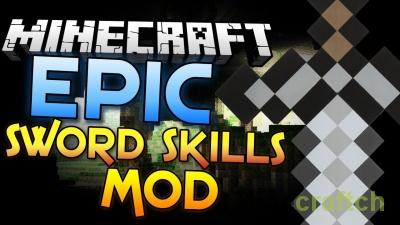 Мод Dynamic Sword Skills для Minecraft