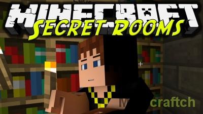 Secret Rooms Mod — секретные комнаты в Minecraft