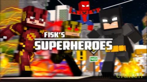 Fisk's Superheroes — мод на костюмы супергероев в Minecraft 1.7.10