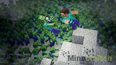 Zombie Epidemic — карта про зомби апокалипсис в Minecraft 1.11.2
