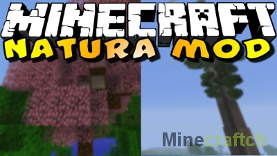 Natura — мод на растения в Minecraft 1.12.2-1.7.10