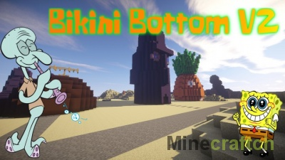 Бикини Боттом V2 — карта для Minecraft