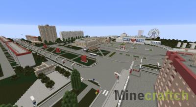 Карта Pripyat 3.7 — Припять в Minecraft