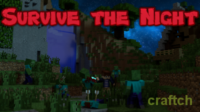 Карта Survive The Night для Minecraft 1.11.2