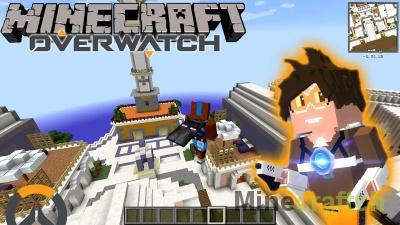 Илиос — карта из Overwatch для Minecraft