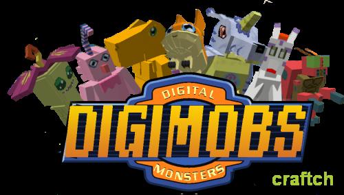 Digimobs — мод на Дигимонов в Minecraft 1.11.2/1.10.2/1.8.9/1.7.10