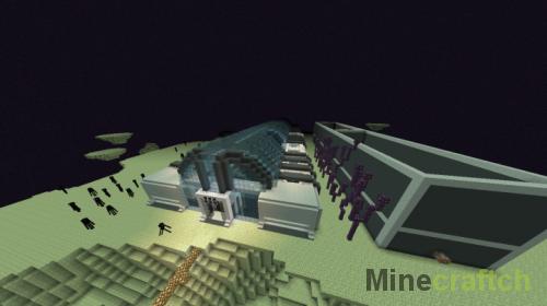 Mob Museum — карта с зоопарком мобов в Minecraft 1.12.2