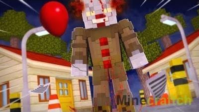 IT Mod — клоун из фильма ОНО в Minecraft 1.11.2