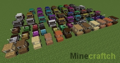 Ultimate Car Mod — машины в Minecraft 1.10.2/1.11.2/1.12.2