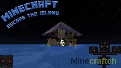 Карта Escape The Island — побег с острова в Minecraft 1.8.x/1.10.2/1.11.2/1.12.2