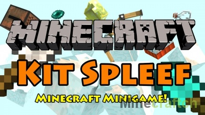 Kit Spleef — карта для мини-игры Сплиф на Minecraft 1.8-1.12.2