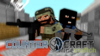 CounterCraft — мод на Counter-Strike: GO в Minecraft 1.6.4
