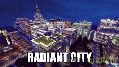 Radiant City — карта Светящийся Город для Minecraft 1.12.2