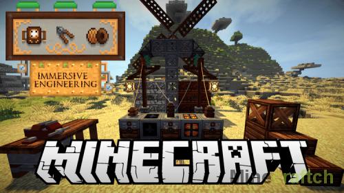 Мод Immersive Engineering для Minecraft 1.12.2/1.11.2/1.10.2/1.8.9/1.7.10