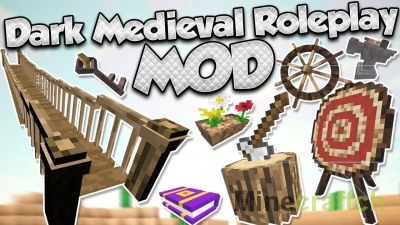 Dark Roleplay Medieval — мод на средневековье в Minecraft 1.12.2-1.8