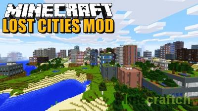 The Lost Cities — мод на заброшенные города в Minecraft 1.12.2/1.11.2/1.10.2
