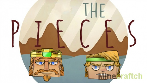 Карта The Pieces для Minecraft