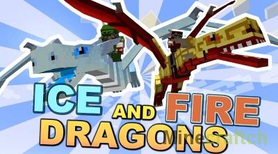 Ice and Fire — мод на драконов льда и пламени в Minecraft 1.10.2/1.11.2/1.12.2