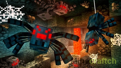 Мод Web Slinger для Minecraft 1.12.2