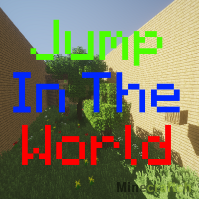 Jump In The World — паркур-карта для Minecraft 1.13