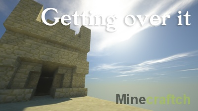 Карта Getting Over It - Parkour Edition для Minecraft