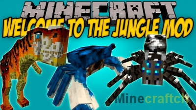Welcome to the Jungle – мод на мир джунглей для Minecraft 1.7.10-1.12.2