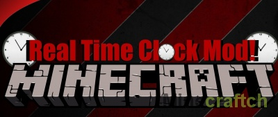 Real Time Clock Mod [1.12.2] [1.11.2] [1.10.2] [1.9.4] [1.8.9] [1.8] [1.7.10]