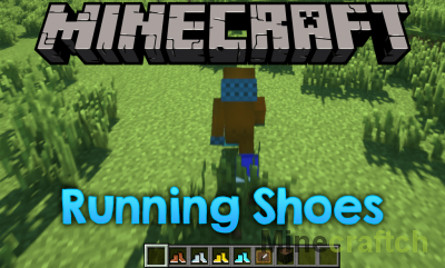 Running Shoes Mod [1.12.2]