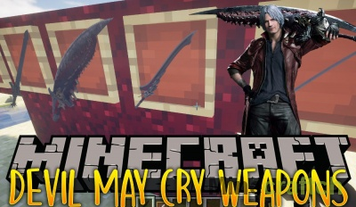 Devil May Cry Weapons Mod [1.12.2]