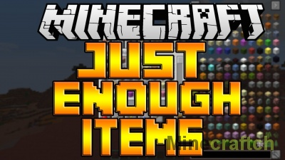Just Enough Items Mod [1.14.4] [1.14.3] [1.14.2] [1.13.2] [1.12.2]