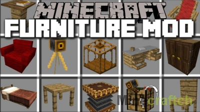 MrCrayfish's Furniture Mod [1.14.3] [1.13.2]