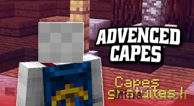 Advanced Capes Mod [1.14.4] [1.13.2] [1.12.2] [1.11.2] [1.10.2] [1.9.4] [1.8.9] [1.7.10]