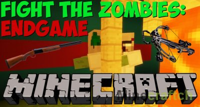 Fight The Zombies: Endgame – карта с зомби ареной для Minecraft [1.14+]