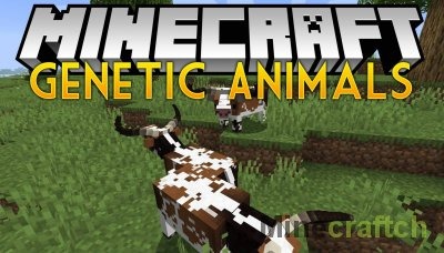 Genetic Animals Mod [1.14.4]