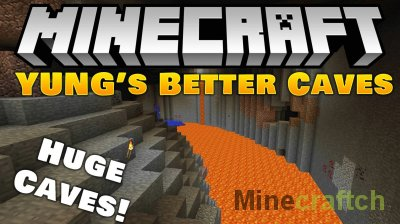 YUNG's Better Caves Mod [1.14.4] [1.12.2]