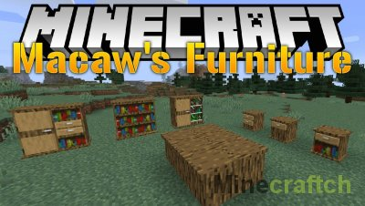 Macaw's Furniture Mod [1.15.2] [1.14.4] [1.12.2]