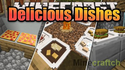 Delicious Dishes Mod [1.15.2]