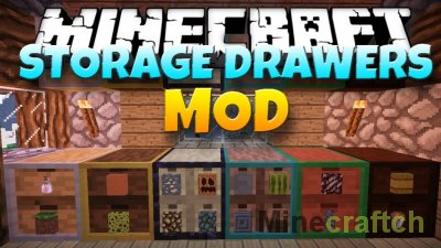 Storage Drawers Mod [1.16.1] [1.15.2] [1.14.4] [1.12.2] [1.11.2] [1.10.2] [1.9.4] [1.8.9] [1.7.10]