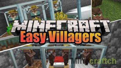 Easy Villagers Mod [1.16.1]