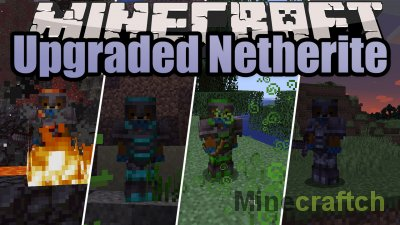 Upgraded Netherite Mod [1.16.3]