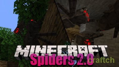 Spiders 2.0 Mod [1.16.3] [1.15.2]
