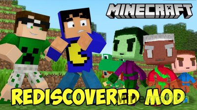 Rediscovered Mod [1.16.4] [1.15.2] [1.14.4] [1.8] [1.7.10]