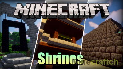 Shrines Structures Mod [1.16.4]