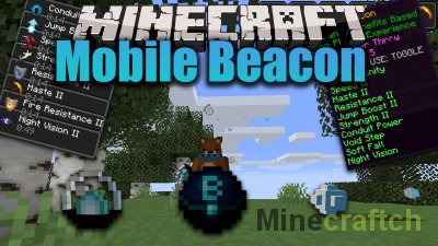 Mobile Beacon Mod [1.16.4]